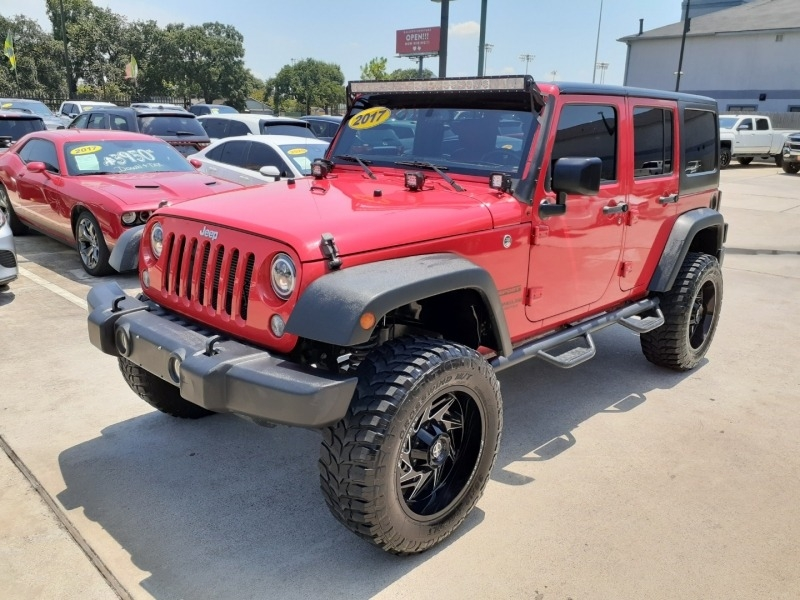 Jeep Wrangler Unlimited 2017 price $5,995