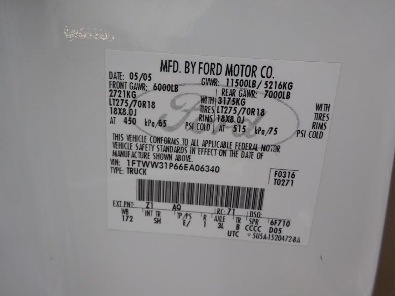Ford Super Duty F-350 DRW 2006 price $21,950