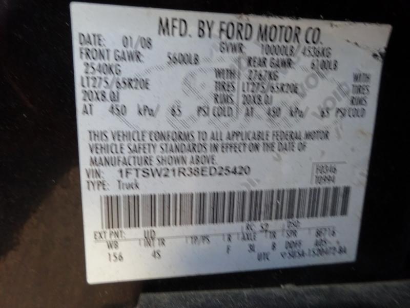 Ford Super Duty F-250 2008 price $18,900