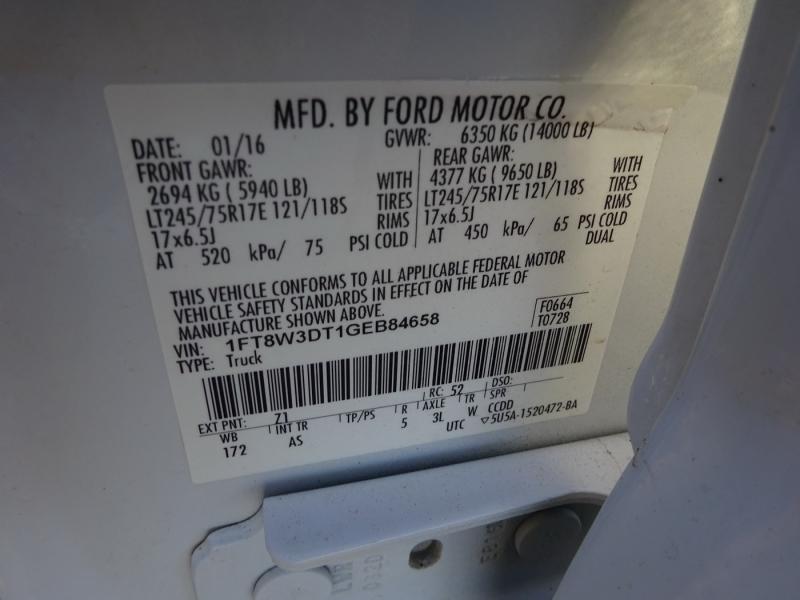 Ford Super Duty F-350 DRW 2016 price $32,995