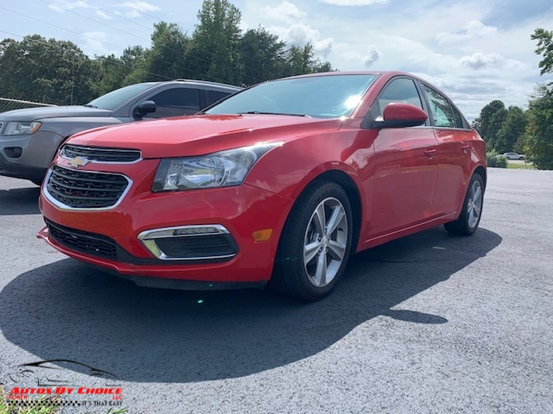 Chevrolet Cruze 2015 price $8,900