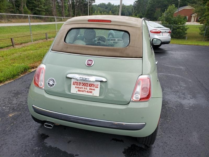 Fiat 500 2012 price $7,500