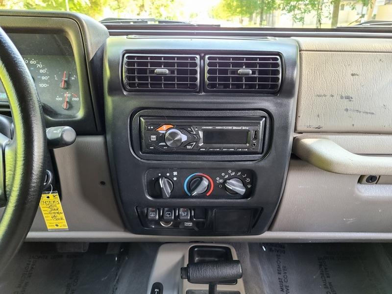 Jeep Wrangler 2004 price $15,888