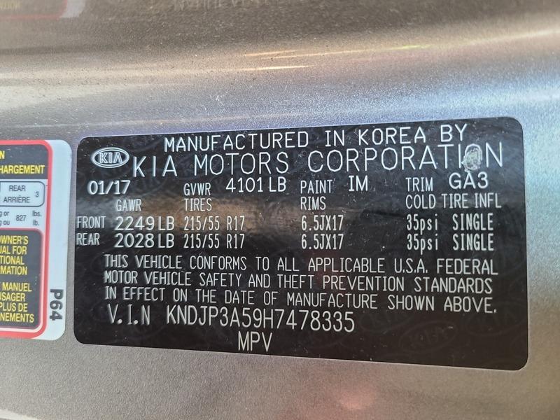 Kia Soul 2017 price $11,388