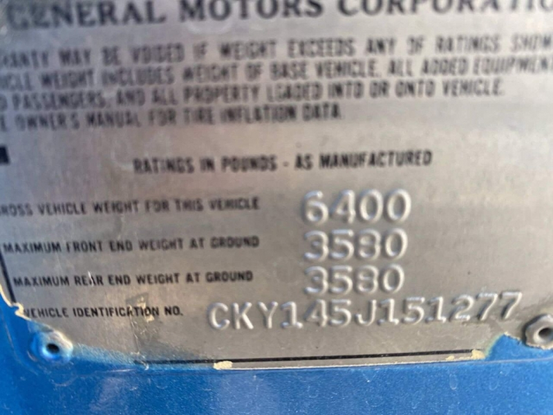 Chevrolet C/K 10 Series 1975 price $22,500