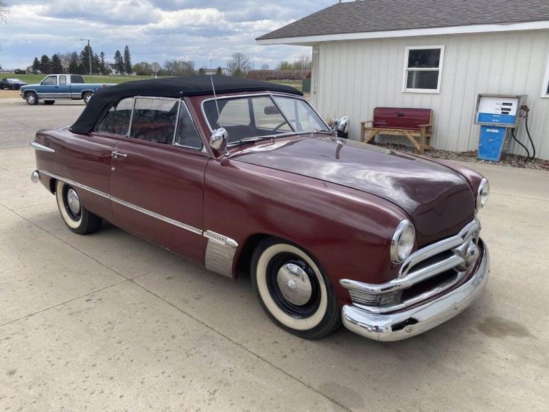 Ford Custom Convertible 1950 price $19,500