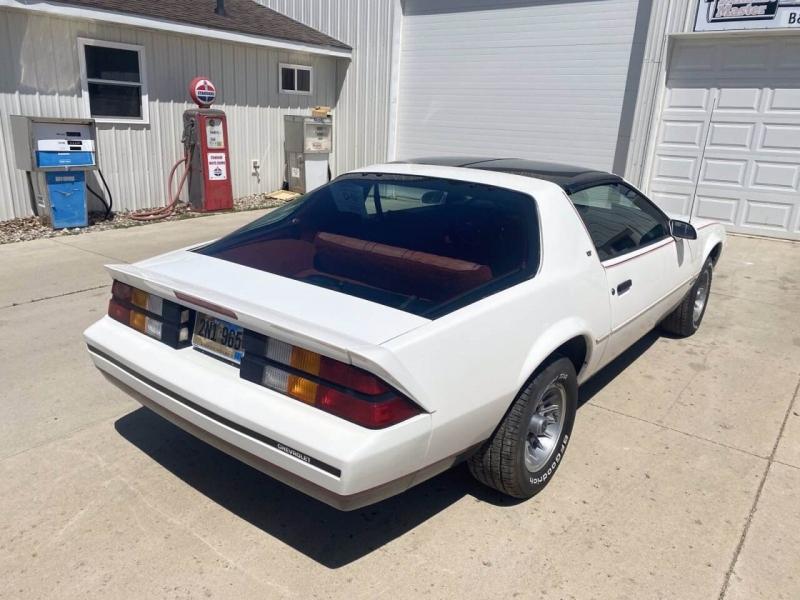 Chevrolet Camaro 1987 price $9,900