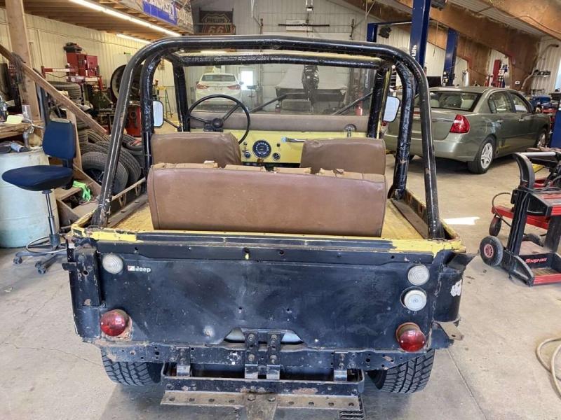 Jeep CJ-5 1975 price $8,000