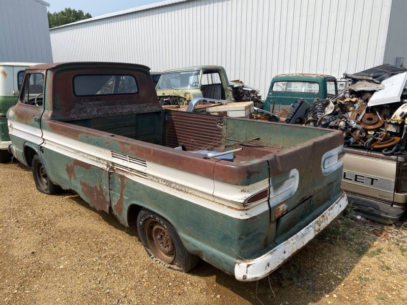 Chevrolet Corvair Pickup 1962 price $2,900