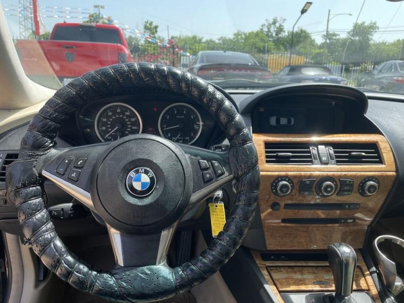 BMW 650 2007 price $9,996 Cash