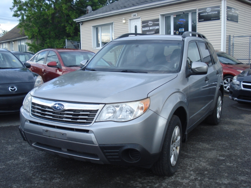 Subaru Forester (Natl) 2009 price $6,990