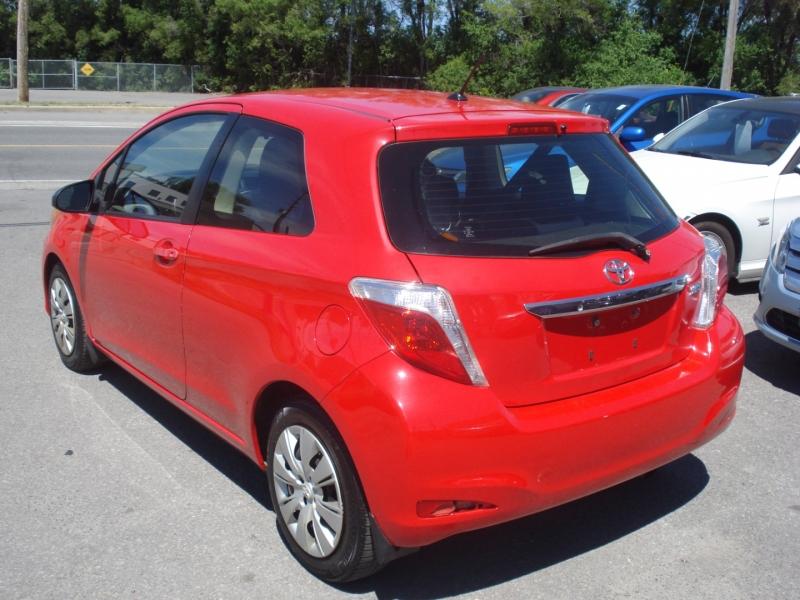 Toyota Yaris 2012 price $6,990