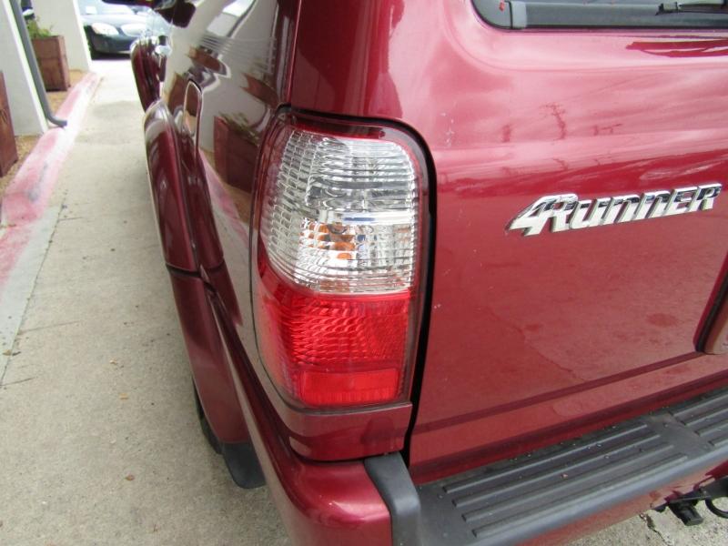 Toyota 4Runner 2002 price CALL FOR PRICE