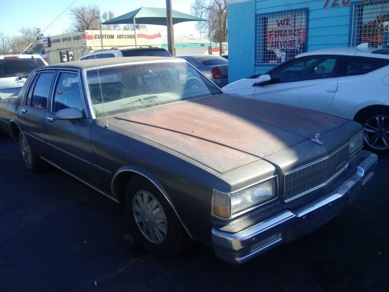 Chevrolet Caprice 1989 price $3,500