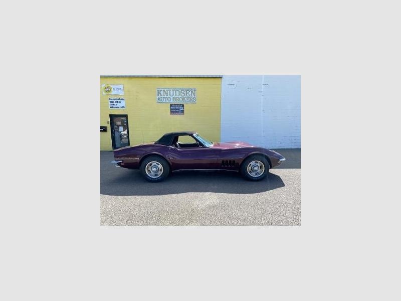 Chevrolet corvette 1968 price $18,995