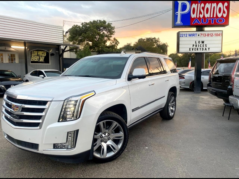 Cadillac Escalade 2016 price $43,500