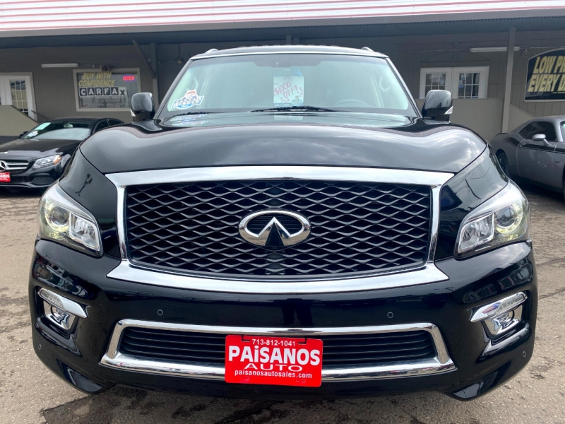Infiniti QX80 2015 price Call for Pricing.