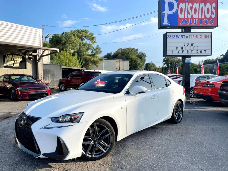 Lexus IS 2018 price Call for Pricing.