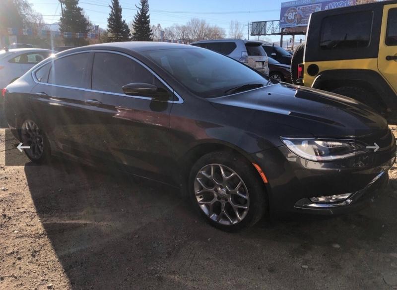 Chrysler 200 2015 price $17,995