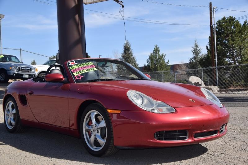 Porsche Boxster 2002 price $20,995