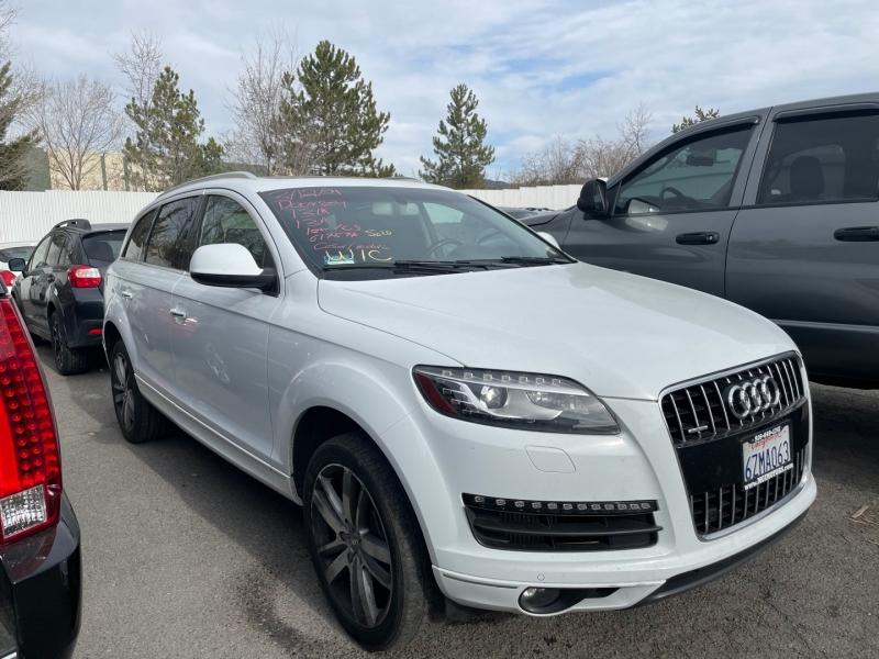 Audi Q7 2013 price $0