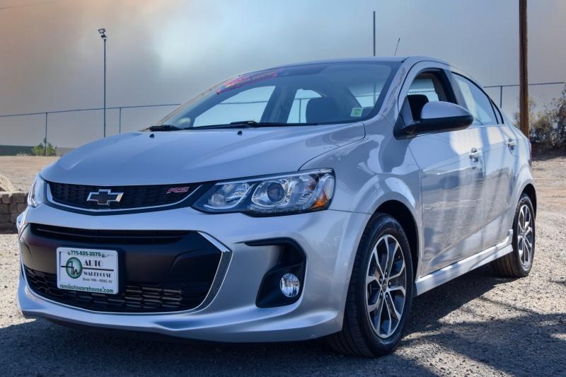 Chevrolet Sonic 2018 price $15,995