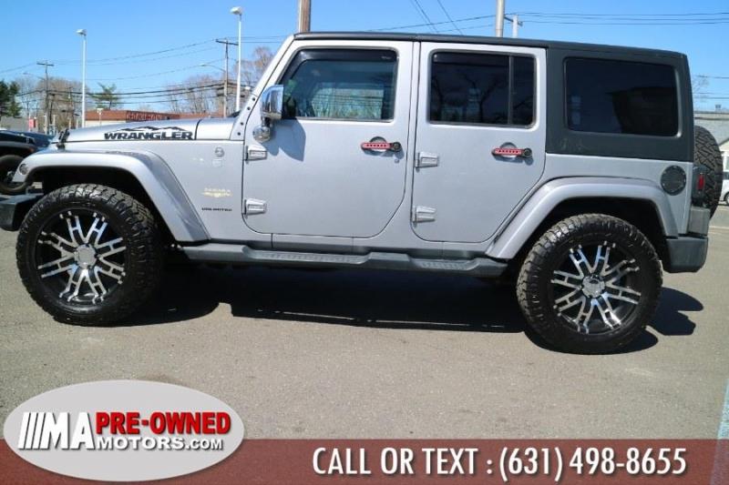Jeep Wrangler Unlimited sahara 2014 price $30,995