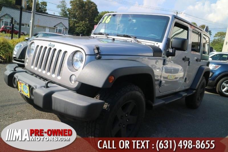 Jeep Wrangler Unlimited 2016 price $28,495