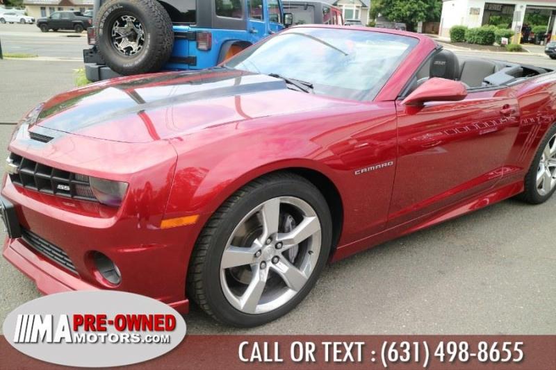 Chevrolet Camaro 2ss conv 2011 price $27,995