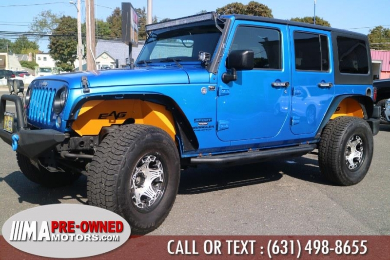 Jeep Wrangler Unlimited 2015 price $26,495
