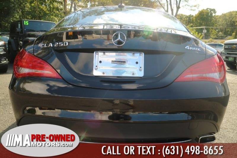 Mercedes-Benz CLA 2016 price $23,495