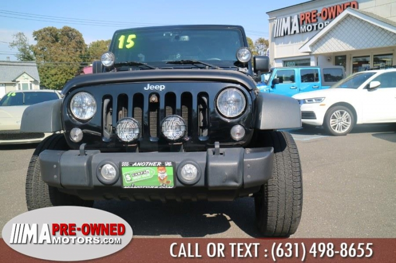 Jeep Wrangler 2015 price $24,895