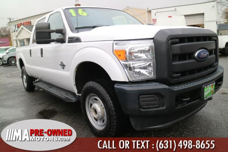 Ford Super Duty crew F-250 SRW diesel 2016 price $35,595