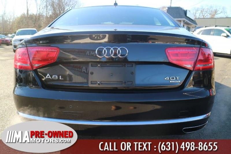 Audi A8 L 2014 price $24,999