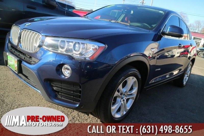 BMW X4 2017 price $26,995