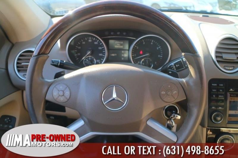 Mercedes-Benz M-Class 2011 price $10,595