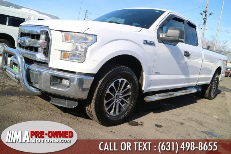 Ford F-150 with 8ft bed 2016 price $27,595