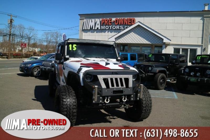Jeep Wrangler Unlimited 2015 price $31,988