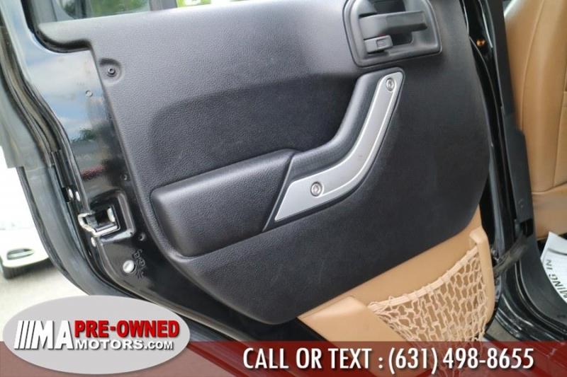 Jeep Wrangler Unlimited 2012 price $30,995