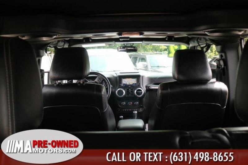 Jeep Wrangler Unlimited saharad 2012 price $24,995