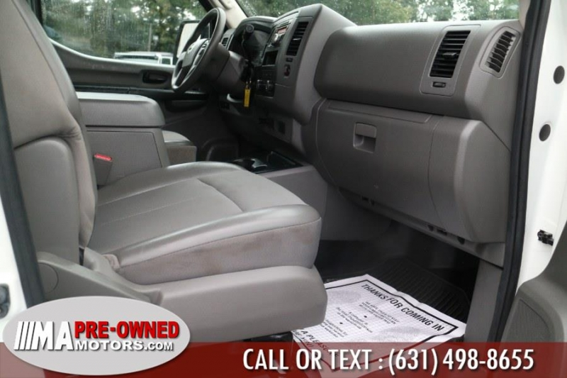 Nissan NV Cargo high roof 2500 2017 price $26,995