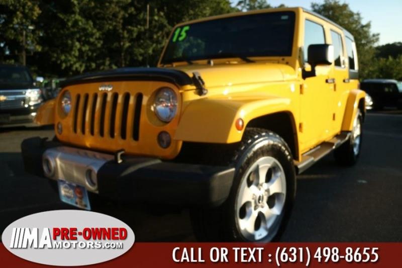 Jeep Wrangler Unlimited SAHARA 2015 price $31,995