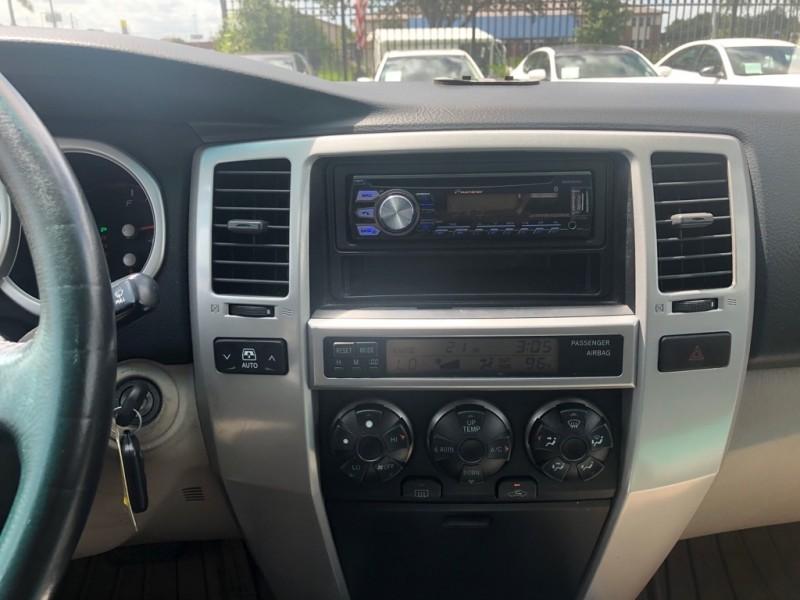 Toyota 4Runner 2005 price $7,999 Cash