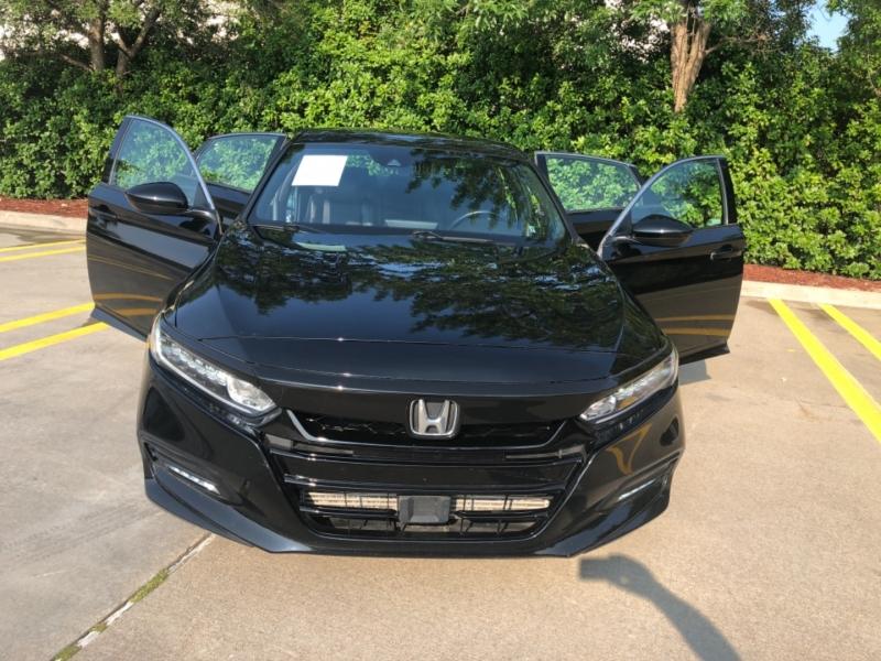 Honda Accord Sedan **Rebuilt Title** 2018 price $17,998