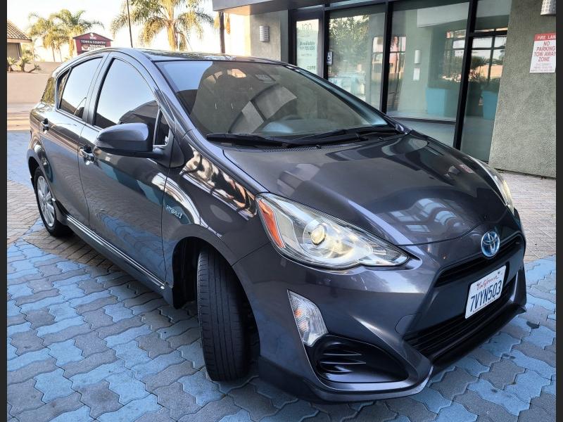 Toyota Prius c 2017 price $13,900