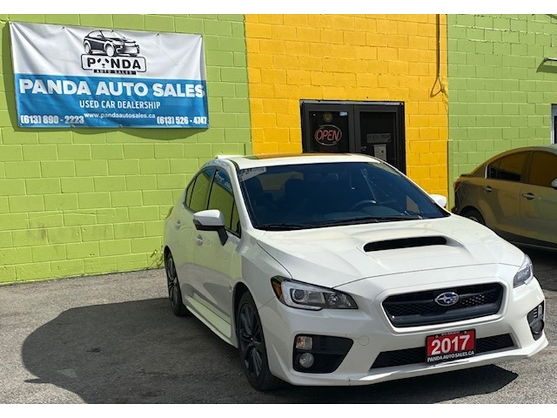 Subaru WRX 2017 price $0