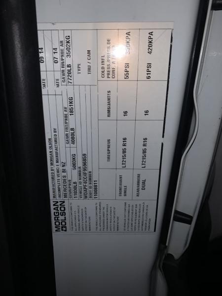 MERCEDES-BENZ SPRINTER 2015 price $19,995