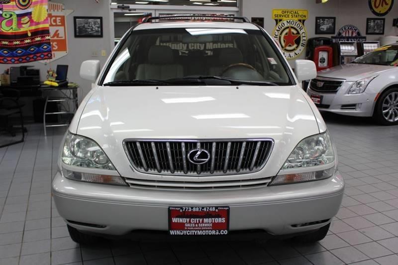 Lexus RX 300 2003 price