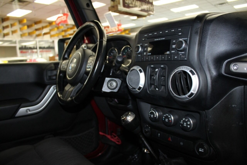 Jeep Wrangler Unlimited 2012 price $21,850