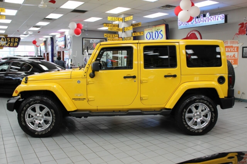 Jeep Wrangler Unlimited 2015 price $34,850